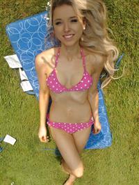 Chloe Harwood in a bikini