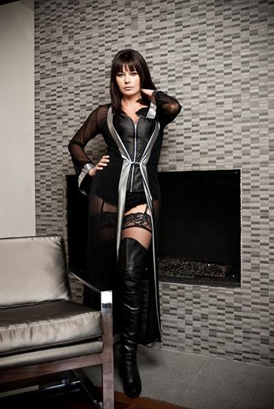 Musetta Vander in lingerie